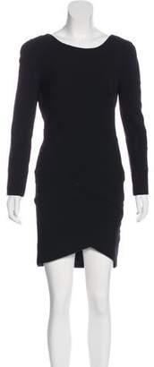 Jay Ahr Long Sleeve Mini Dress