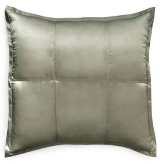 Donna Karan New York Collection 'Exhale' Quilted Silk Charmeuse Euro Sham