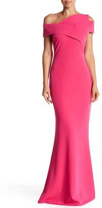 Couture Posh One Shoulder Gown
