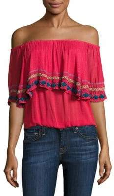Piper Byron Off-The-Shoulder Top