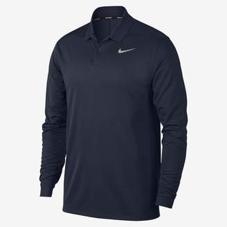 Nike Dri-FIT Victory Men's Long Sleeve Standard Fit Golf Polo