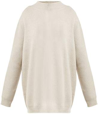 Hanro Ribbed wool jumper