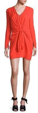 3.1 Phillip Lim Silk Tie-Front Dress