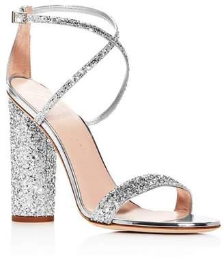 Giuseppe Zanotti Women's Svamp Glitter Crisscross High-Heel Sandals