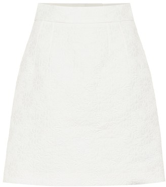 Dolce & Gabbana Cotton-blend jacquard miniskirt