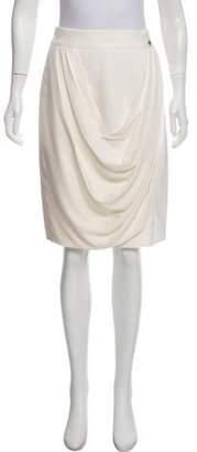 Chanel Paris-Bombay Silk Skirt