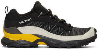 Salomon Black and Grey Limited Edition Shelter Low LTR ADV Sneakers
