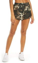 The Upside Forest Camo Running Shorts