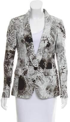 Tibi Floral Long Sleeve Jacket