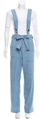 Etoile Isabel Marant High-Rise Wide-Leg Pants
