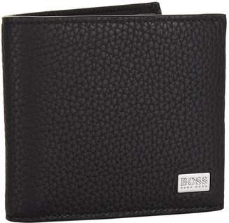 HUGO BOSS Leather Bifold Wallet