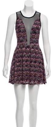 For Love & Lemons Knit Mini Dress