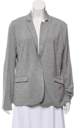 Magaschoni Knitted Notch-Lapel Blazer w/ Tags