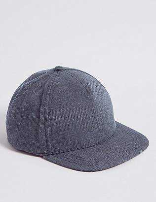 Marks and Spencer Kids' Textured Baseball Cap (3-14 Years)