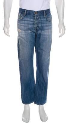 Rag & Bone Distressed Bootcut Jeans