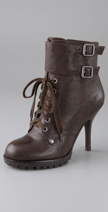 Ash Rhythm Lace Up Booties