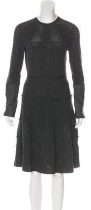 Oscar de la Renta 2016 Virgin Wool Dress