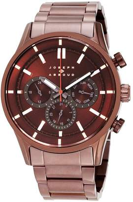 Joseph Abboud Men's 55mm Steel Bracelet & Case Quartz Watch JA3191BN648-127