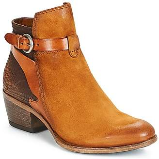Mjus DALLAS women's Low Ankle Boots in Brown
