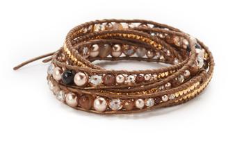 Chan Luu Wrap Around Bracelet $170 thestylecure.com