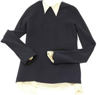 J. Mendel J.Mendel J.mendel Black Silk Top for Women