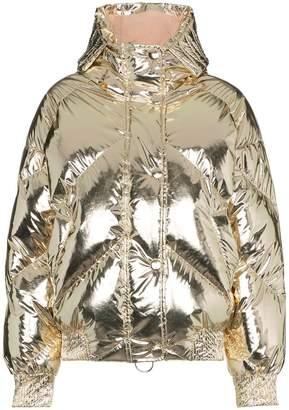Dunlop Ienki Ienki foil puffer jacket