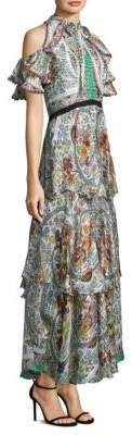 Etro Garden Silk Gown