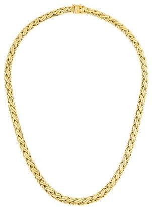 SPIGA 14K Flat Chain Necklace