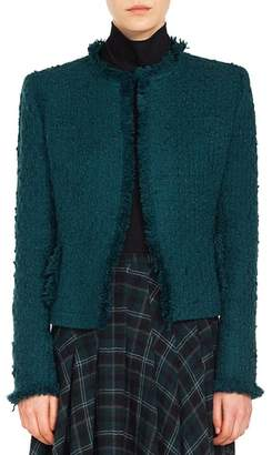 Akris Punto Fringe Tweed Jacket