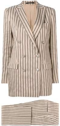 Tagliatore striped two-piece suit