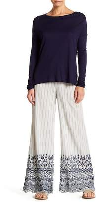 XCVI Herrera Embroidered Pants