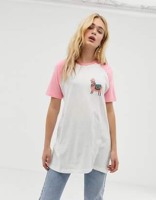 Vero Moda llama t-shirt
