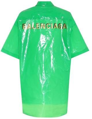 Balenciaga Bin water-repellent shirt