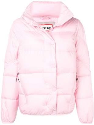 Hunter buttoned puffer jacket