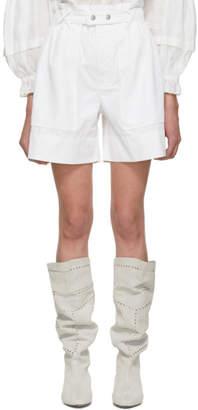 Isabel Marant White Twen Shorts