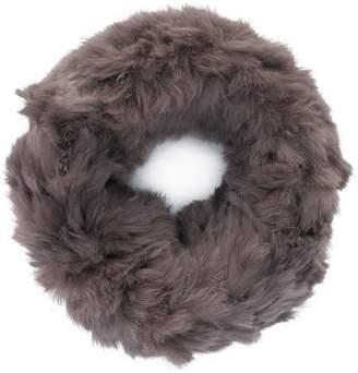 Yves Salomon sheared collar snood