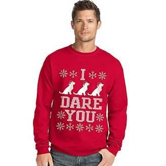 Hanes Hnaes Men's Ugly Christmas Sweatshirt