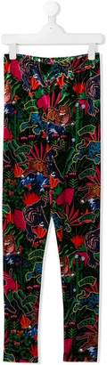 Kenzo jungle print leggings