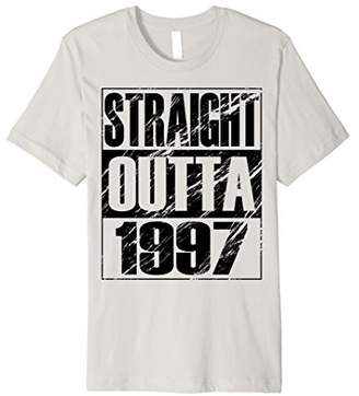 Funny Straight Outta 1997 T-shirt 21th Birthday Vintage Gift