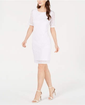Alfani Petite Lace Sheath Dress