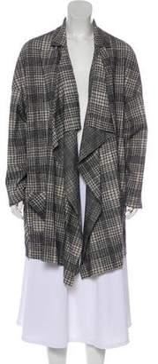 Harris Wharf London Wool Blend Plaid Jacket w/ Tags
