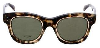 Celine Cat-Eye Tinted Sunglasses