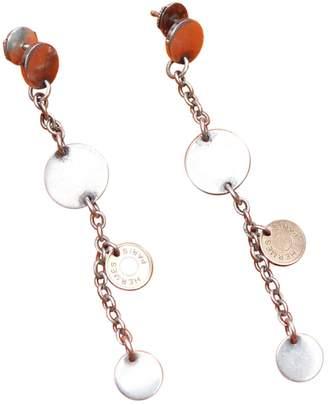 Hermes Confetti silver earrings