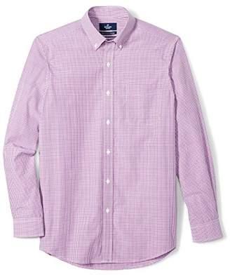 Buttoned Down Men's Classic Fit Supima Cotton Button-Collar Pattern Sport Shirt