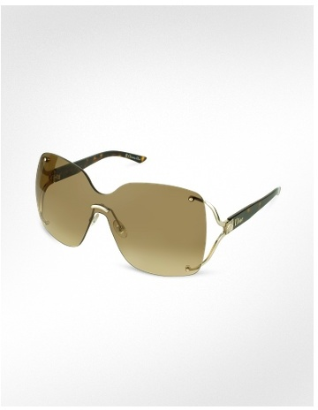 Christian Dior Dior Suite - Rimless Shade Sunglasses