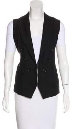 Isabel Marant Silk-Blend Linen Vest