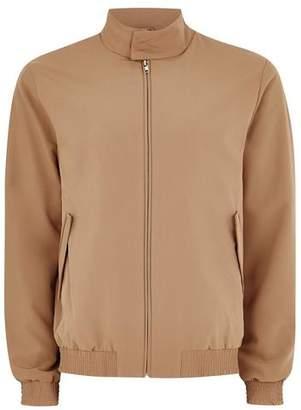 Topman Mens Gold Smart Harrington Jacket