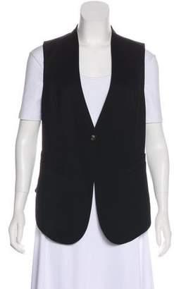 Helmut Lang Wool Open Back Vest