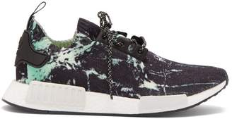 adidas Nmd_r1 Primeknit Low Top Trainers - Mens - Black Green