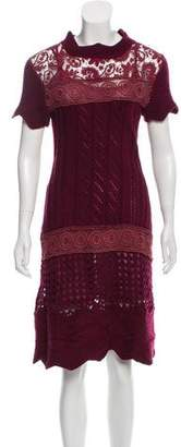 Philosophy di Alberta Ferretti Midi Sweater Dress